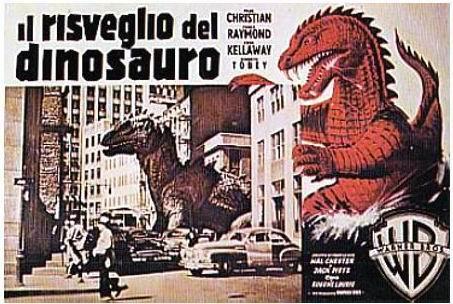 Bianco rosso e verde tra i dinosauri