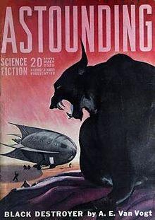 Astounding, luglio 1939, il distruttore nero