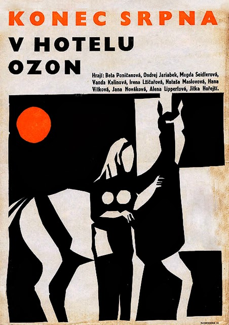 Locandina Fine agosto all'Hotel Ozon