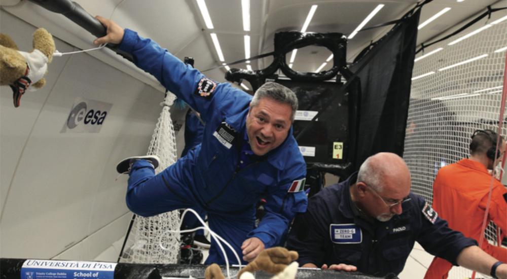 Il volo a Zero G dell'ESA