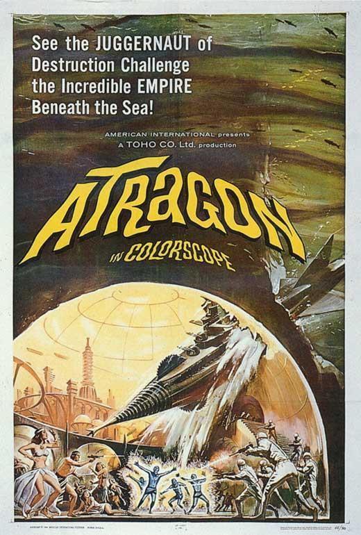 Atragon Movie Tadao Takashima
