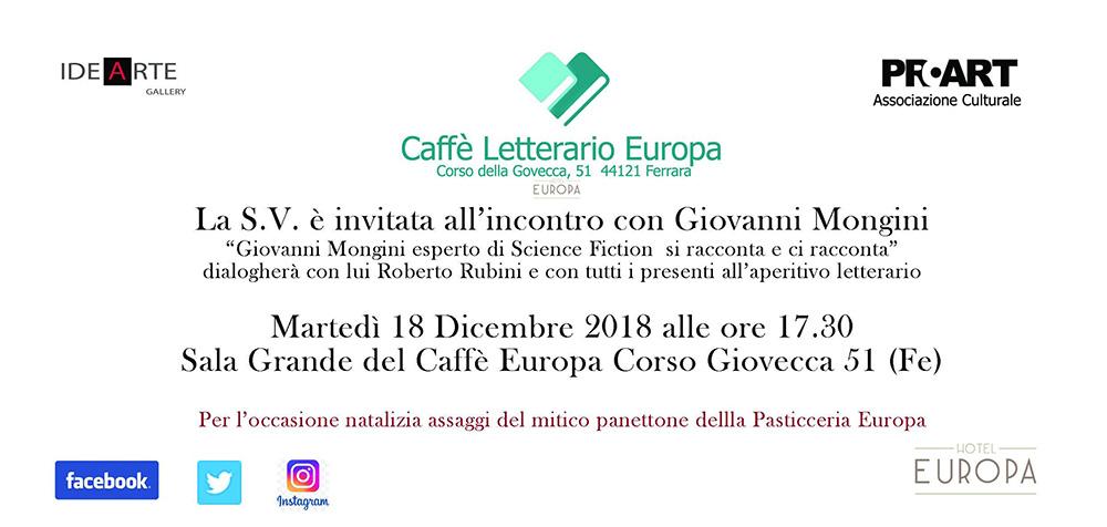 Il Caffè letterario Europa di Ferrara