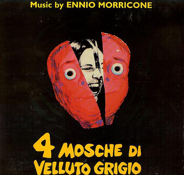 Quattro mosche di velluto grigio, colonna sonora di Morricone