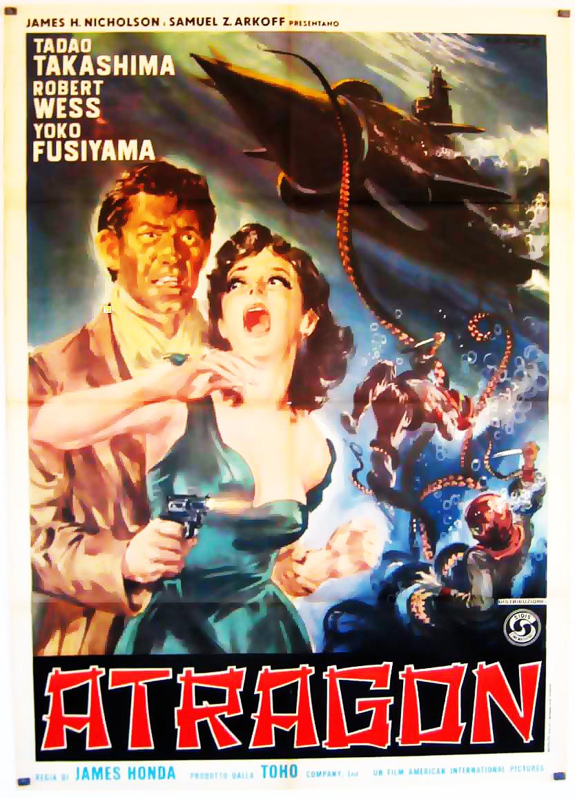 Altro poster di Atragon