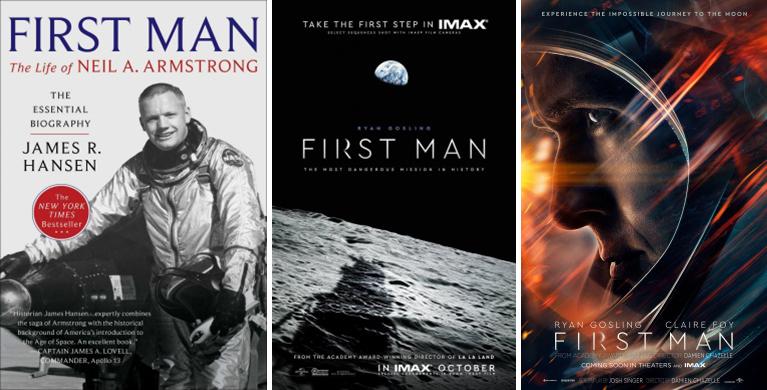 First man, Neil Armstrong  (Cinquant'anni sulla Luna, di Marco Ambrosio)
