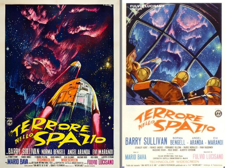 Terrore nello spazio di Mario Bava