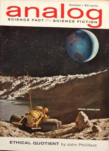 analog, copertina di John Schoenherr