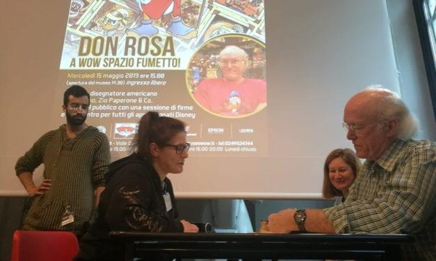 LA CARICA DEI 500 PER DON ROSA AL MUSEO WOW DI MILANO