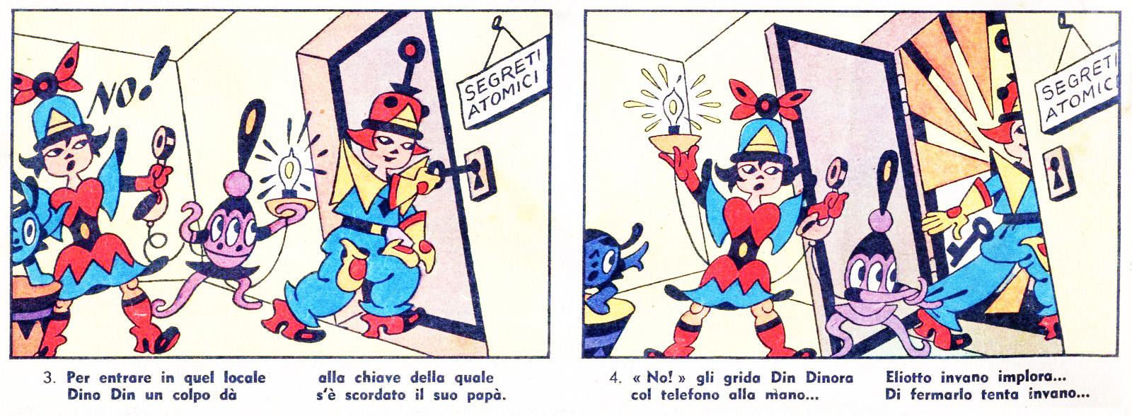 Antonio Rubino, Corriere dei Piccoli del 1 gennaio 1956