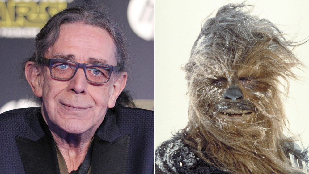 È MORTO PETER MAYHEW, IL CHEWBACCA DI STAR WARS