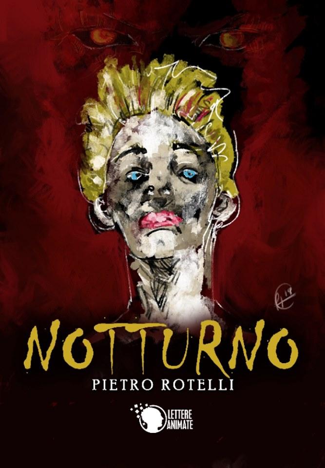 """Copertina del libro """"Notturno"""" di Pietro Rotelli"""