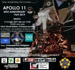 Locandina evento lancio sonda TSV3