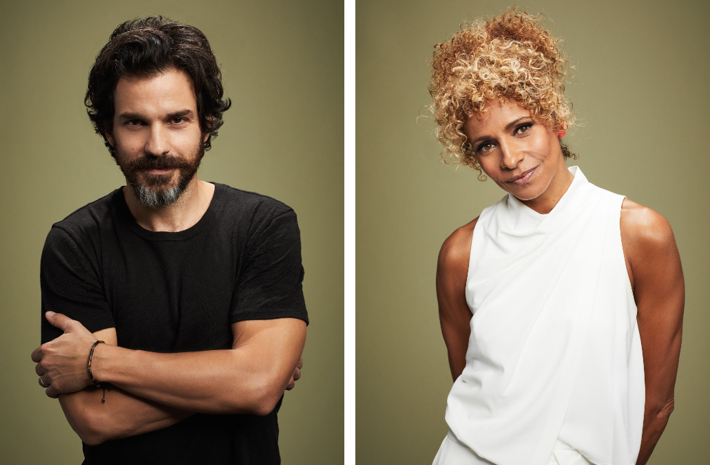 Santiago Cabrera, Michelle Hurd, Picard