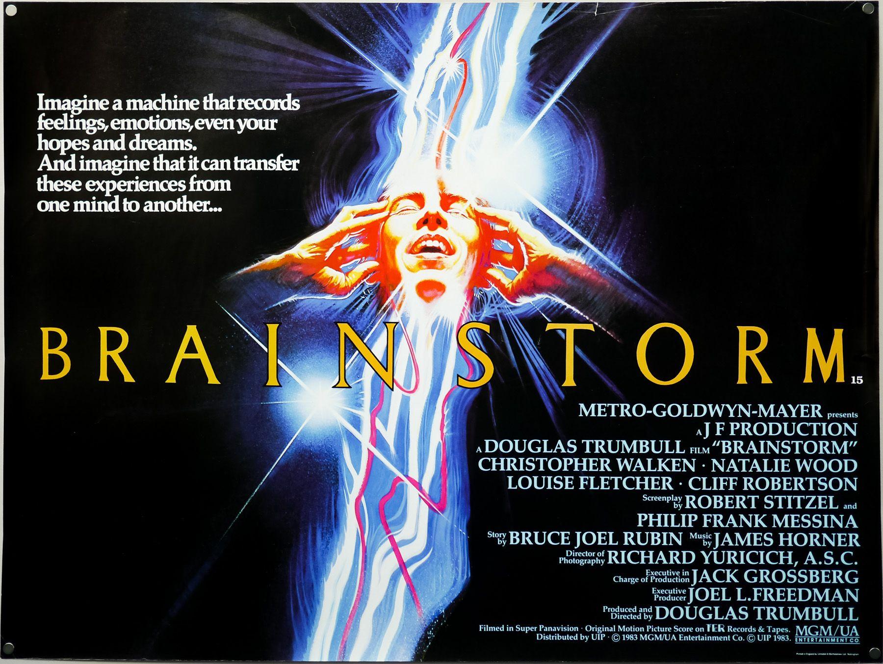 Brainstorm; locandina film