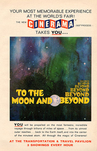 Locandina del film To the Moon and Beyond