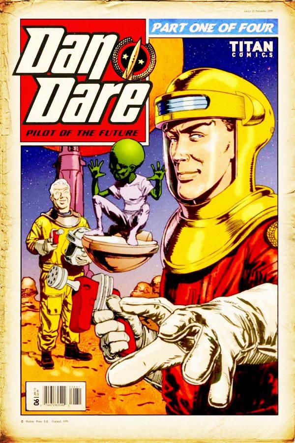 Dan Dare: copertina