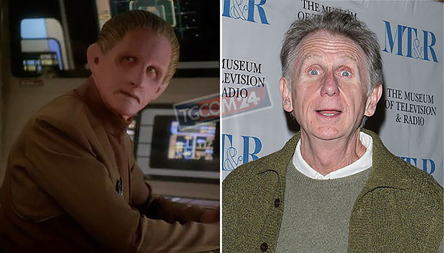MUORE RENÉ AUBERJONOIS, INTERPRETE DI STAR TREK