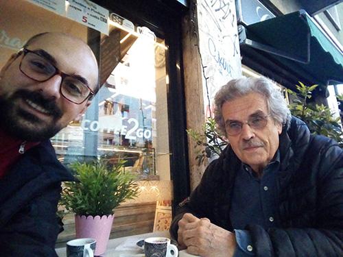 Stefano Spataro e Franco Giambalvo