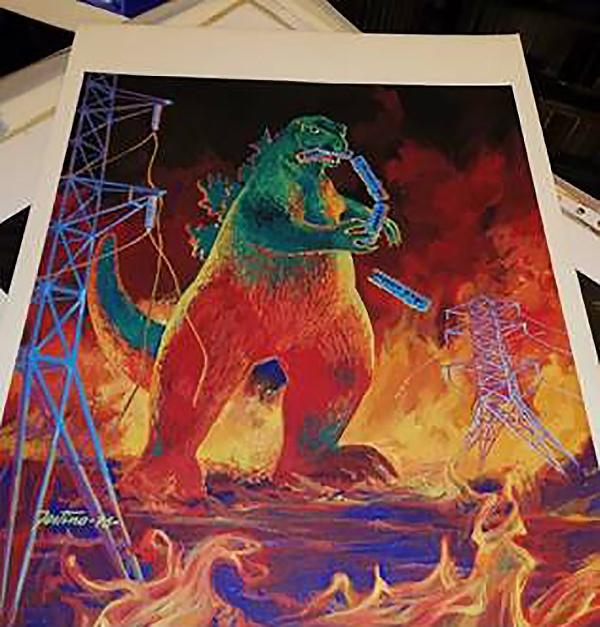 Giuseppe Festino: Godzilla