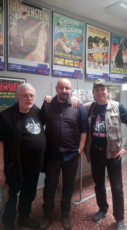 Roberto Azzara, Vanni Mongini, e Michele Tetro