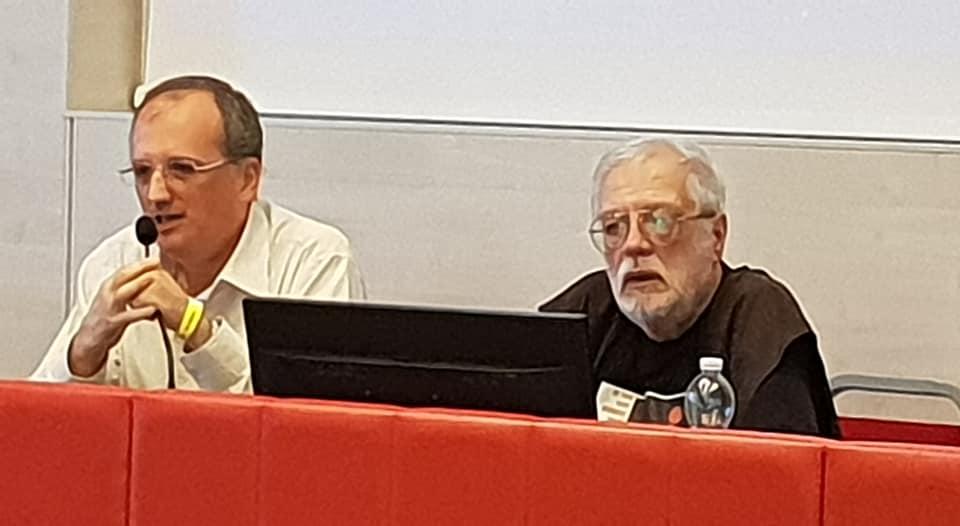 Mario Luca Moretti e Vanni Mongini