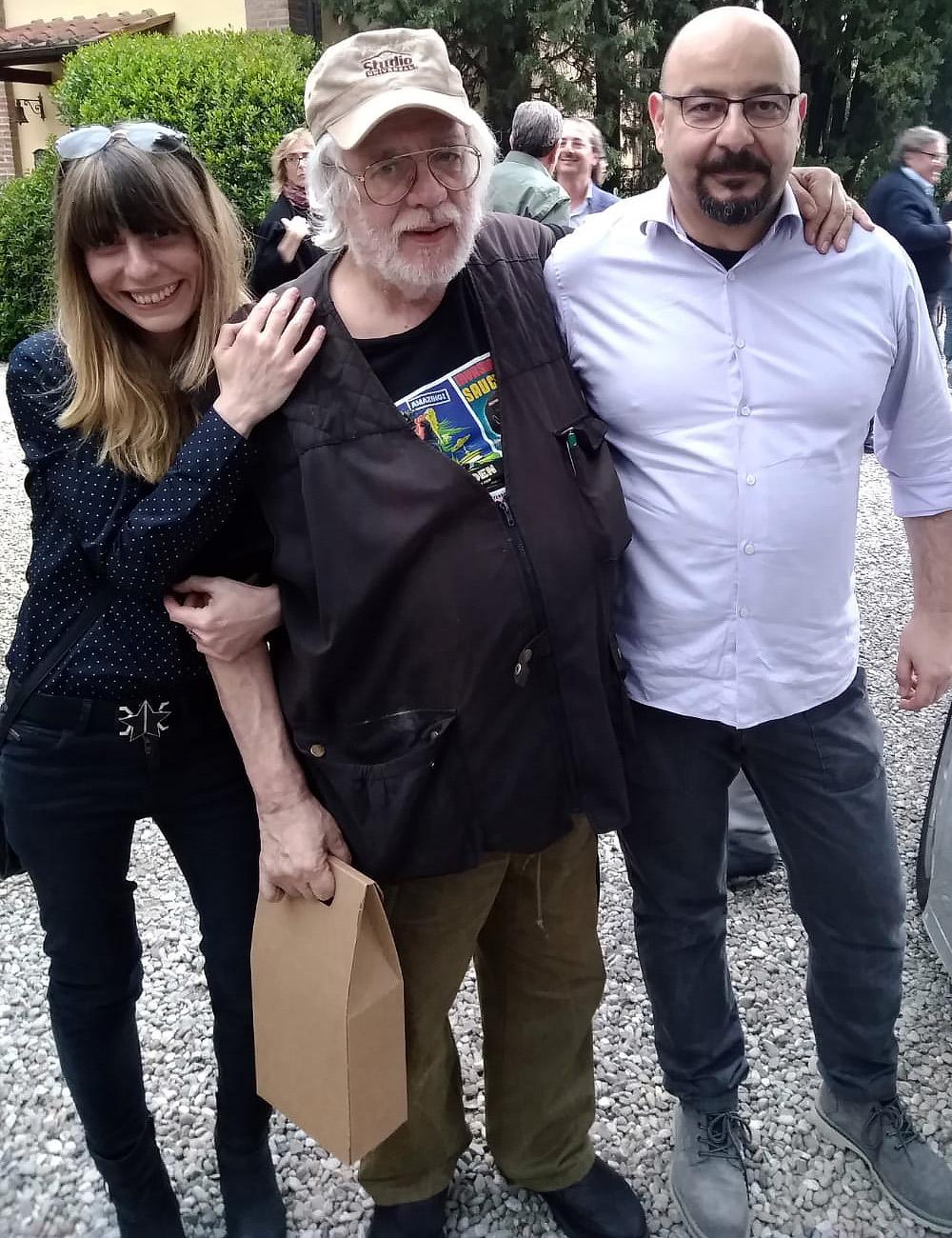 Roberta Guardascione, Vanni Mongini e Roberto Azzara
