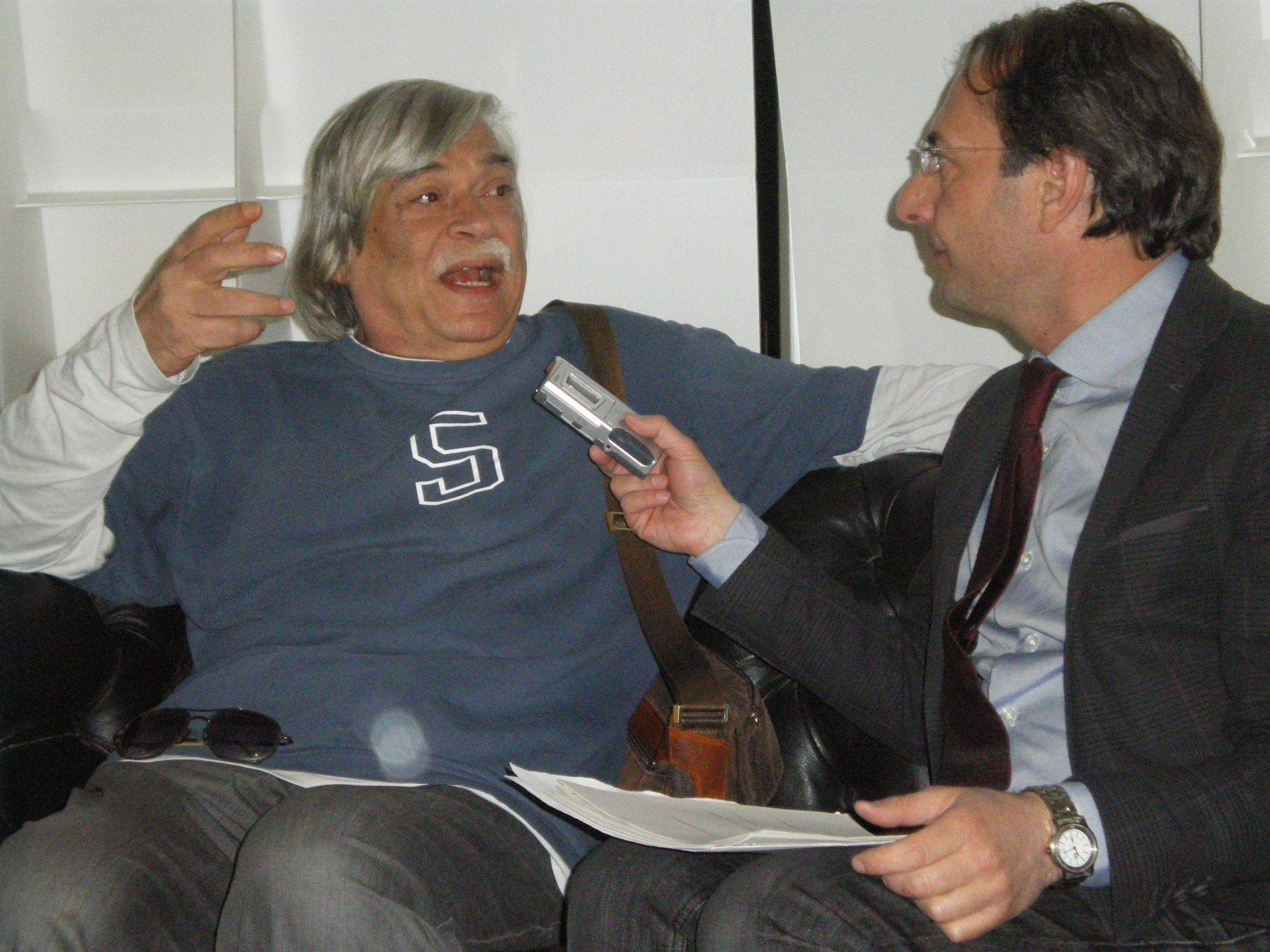 Filippo Radogna con Ugo Malaguti