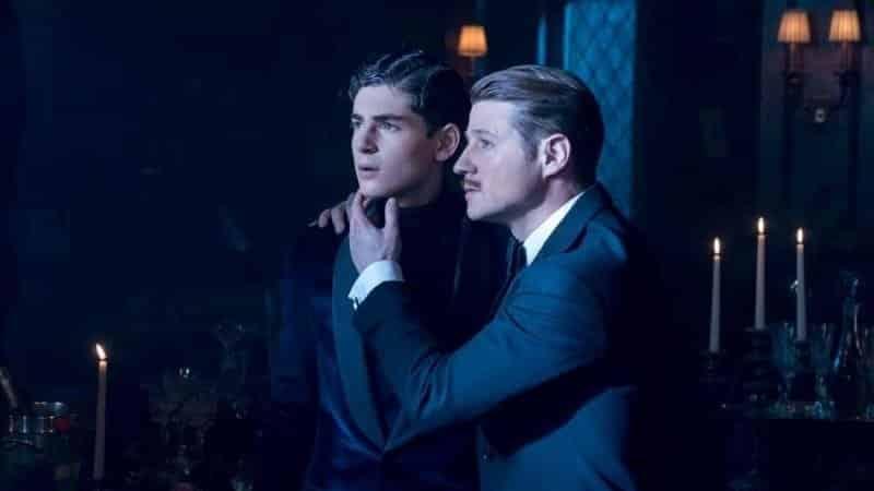 Gotham - Bruce Wayne e l'ispettore Gordon
