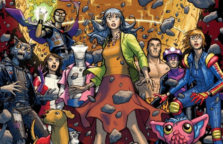 Doom Patrol: personaggi creati per la DC