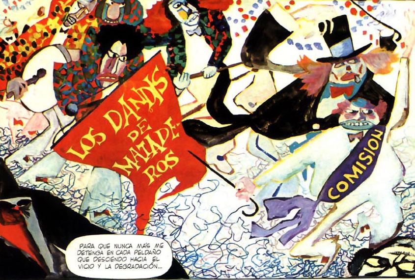 Poe a fumetti: Allberto Breccia fa William Wilson