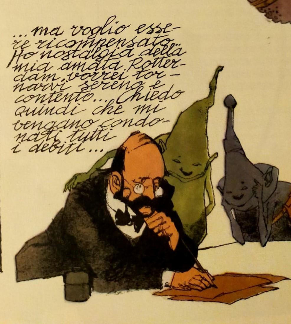 Hans Pfaall fumetti