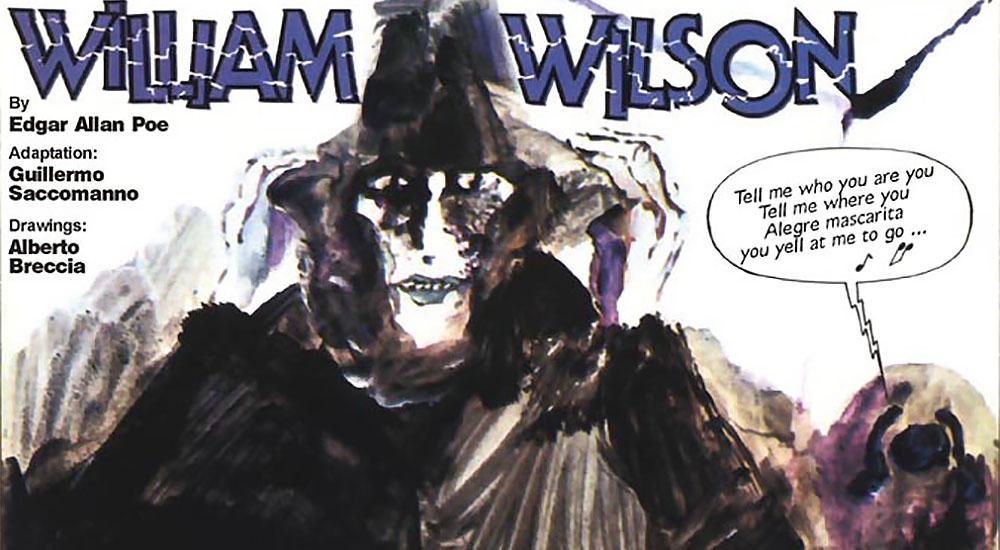 Poe a fumetti: William Wilson