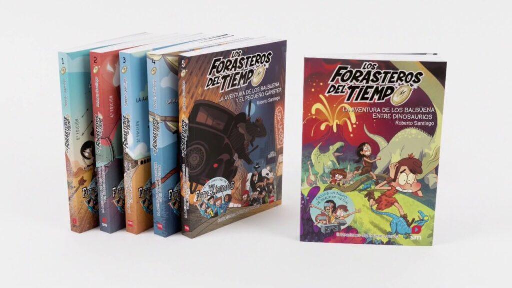 Los Forasteros del Tiempo: i libri