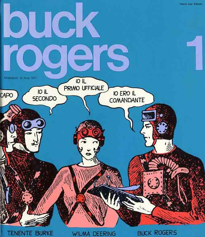 Buck Rogers in italiano