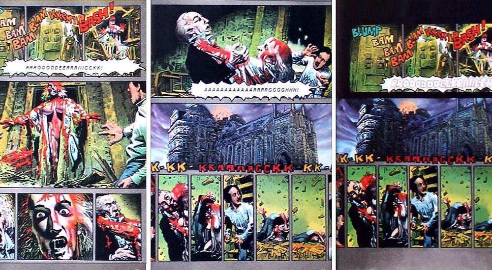 La caduta di casa Usher: Poe a fumetti