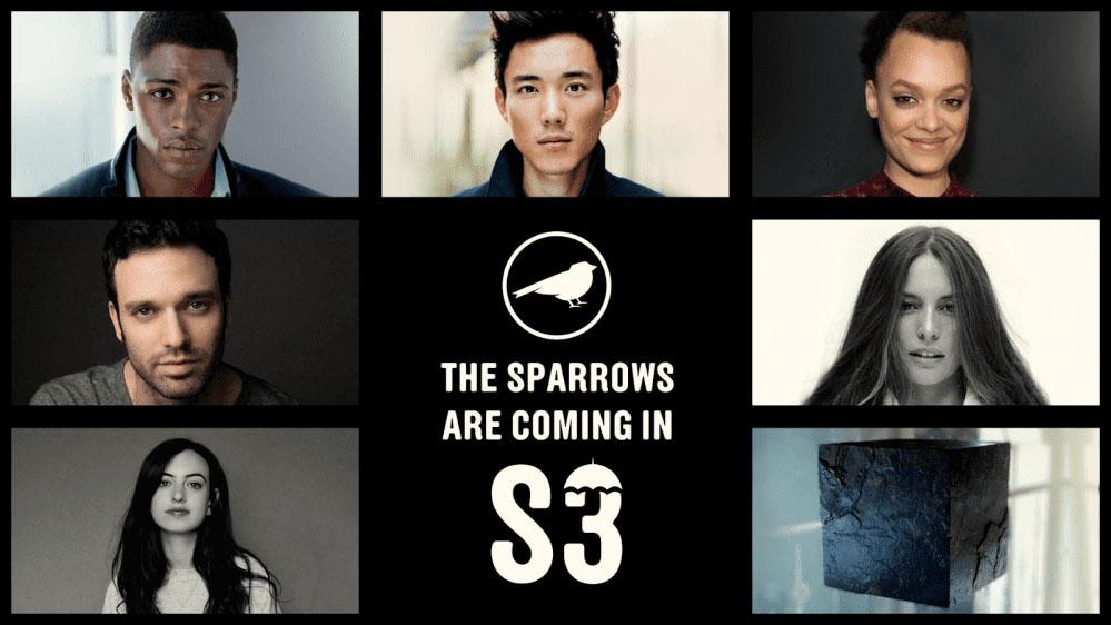 The umbrella academy 3: the Sparrows Team
