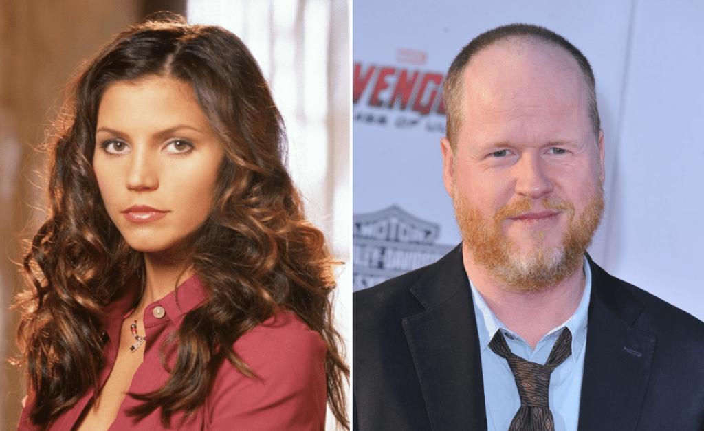 Charisma Carpenter e Joss Whedon