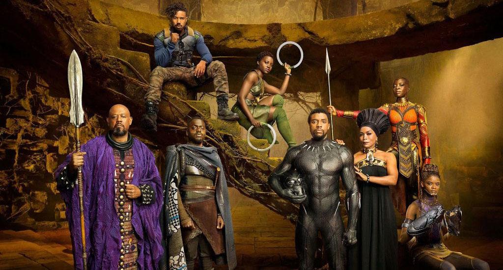 Wakanda e la troupe di Black Panther