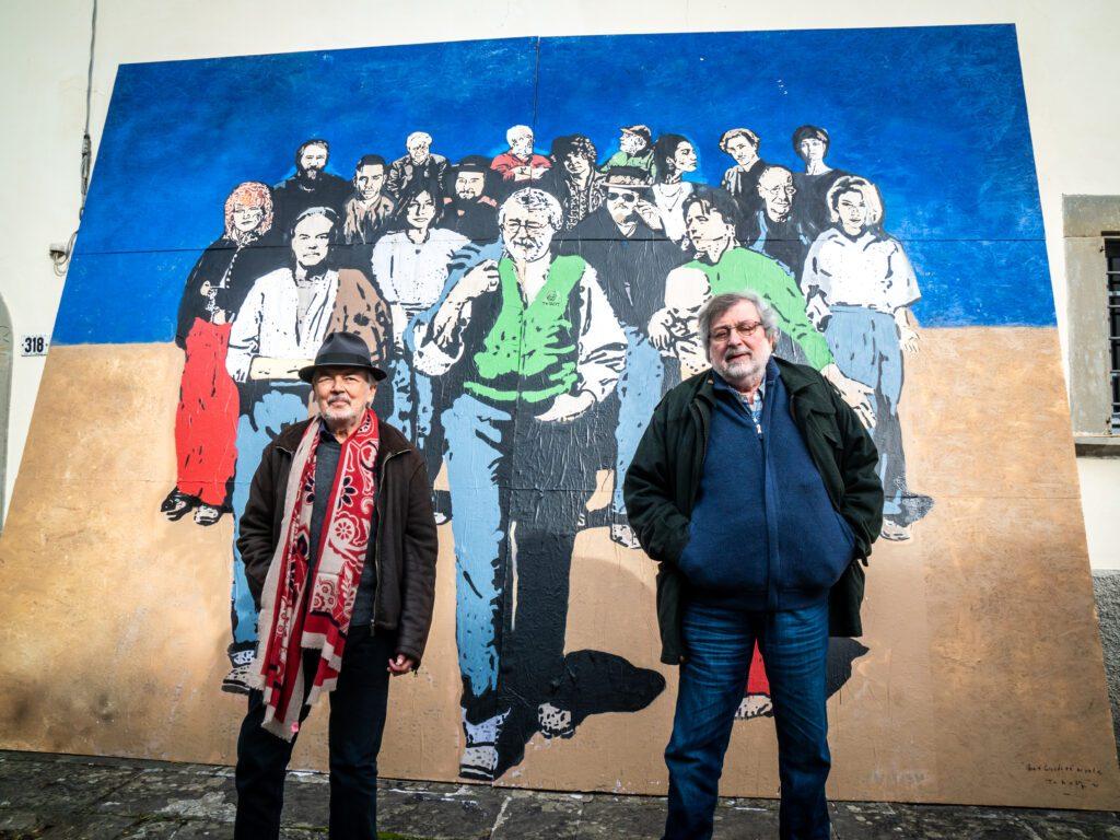Nexo + Guccini e il murale