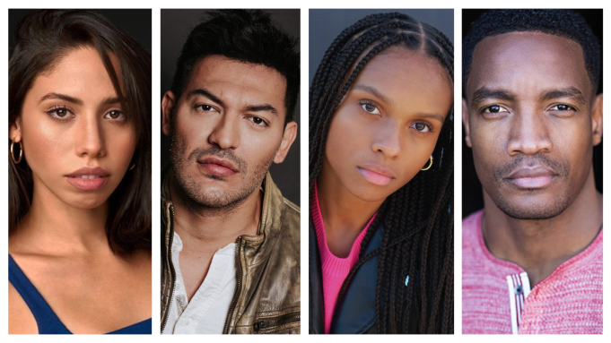 Naomi: Camila Moreno, Alexander Wraith, Kaci Walfall e Cranston Johnson