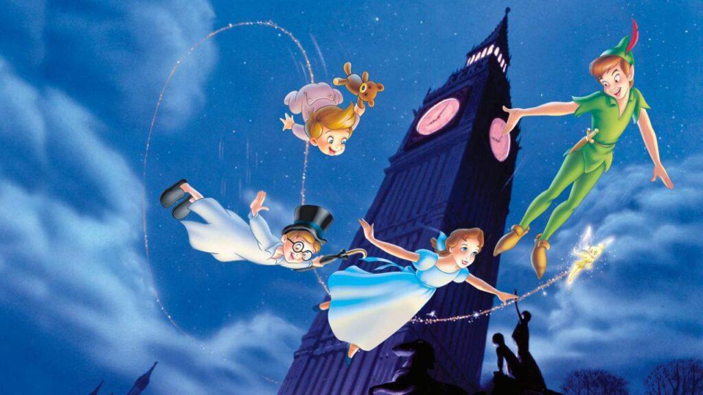 Peter Pan & Wendy nel cartone animato