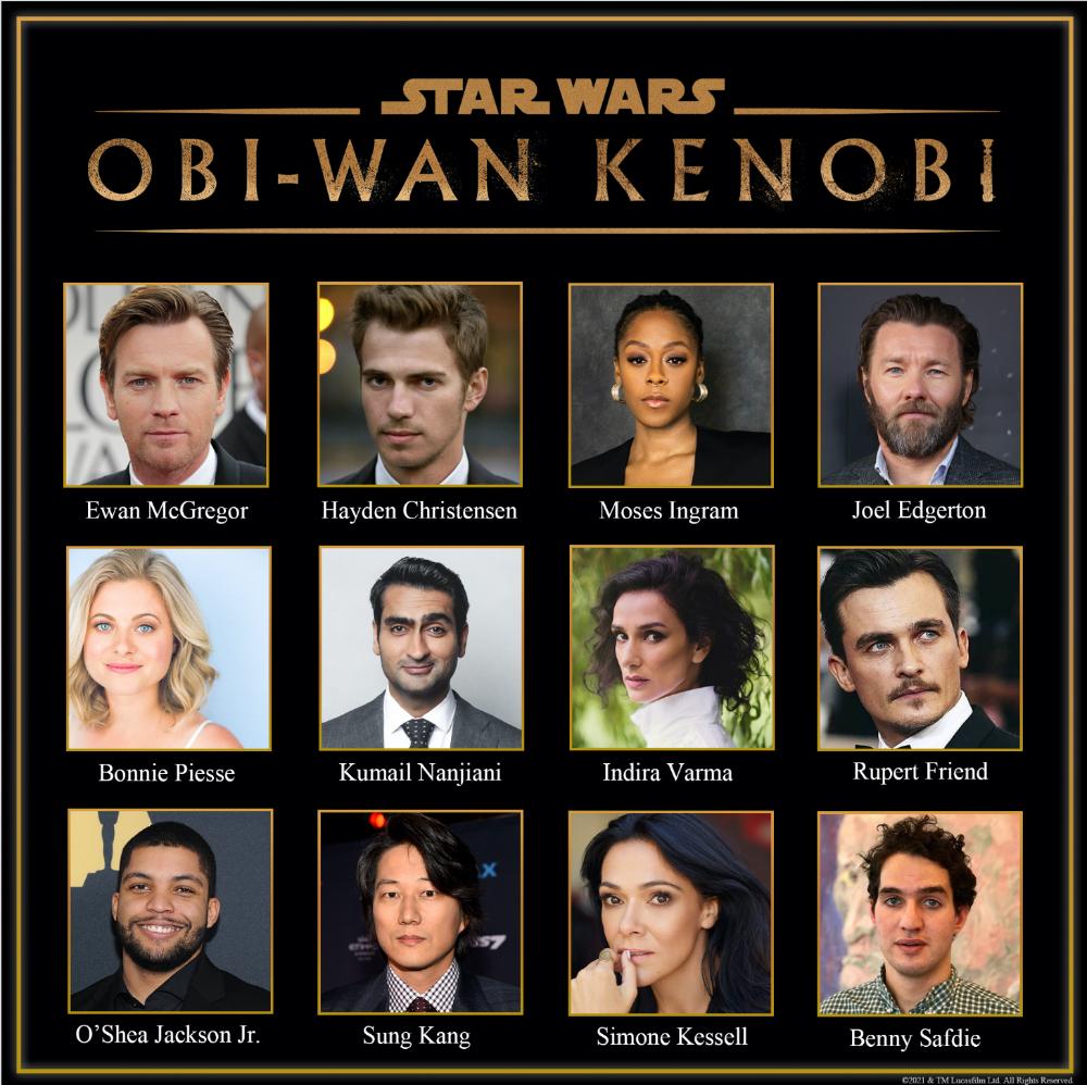 obi-wan kenobi: cast