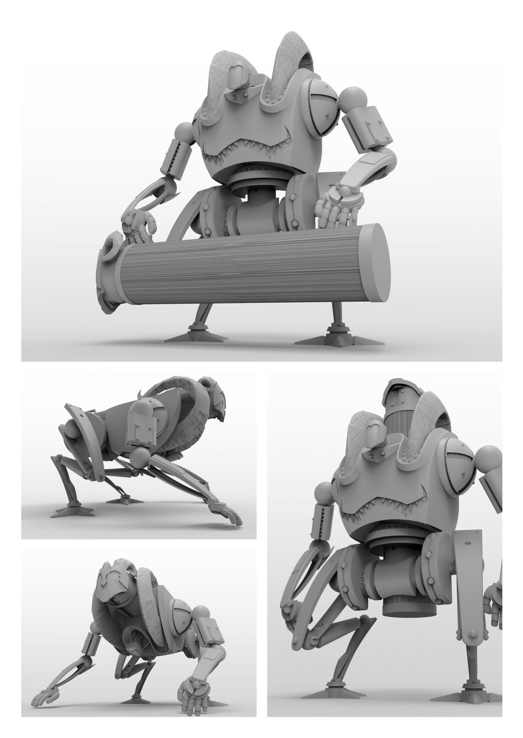 Megarette - Robottoni